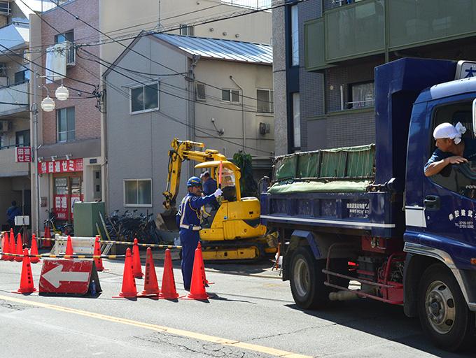 3. 交通誘導警備
